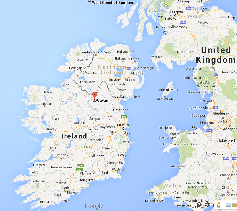 Map Of Ireland Cavan.Map Photos Map County Cavan Ireland Smith Dna Official Project