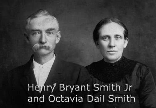 Henry Bryant Smith Jr and his wife Octavia Dail.