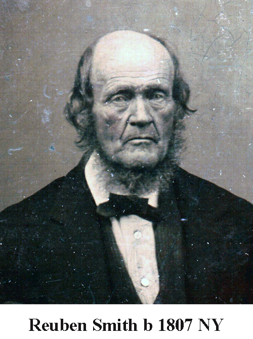 Reuben Smith b 1807 NY