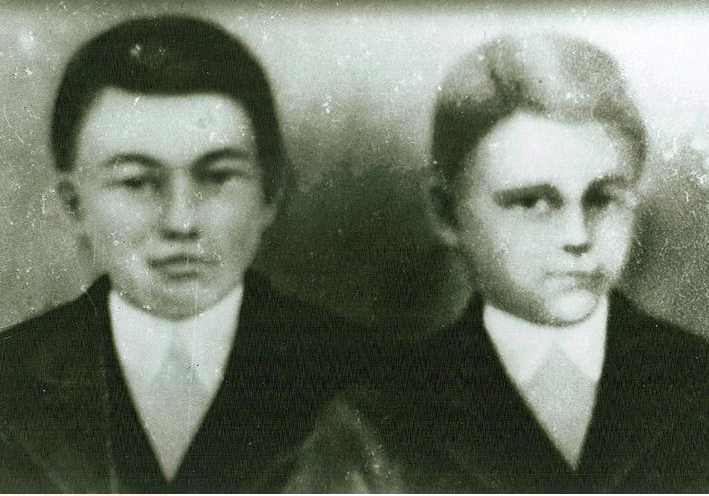John Archie Smith and brother that was killed