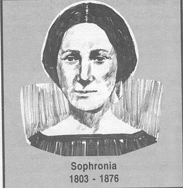 Sophronia Smith Stoddard McCleary 1803 VT-1876 IL